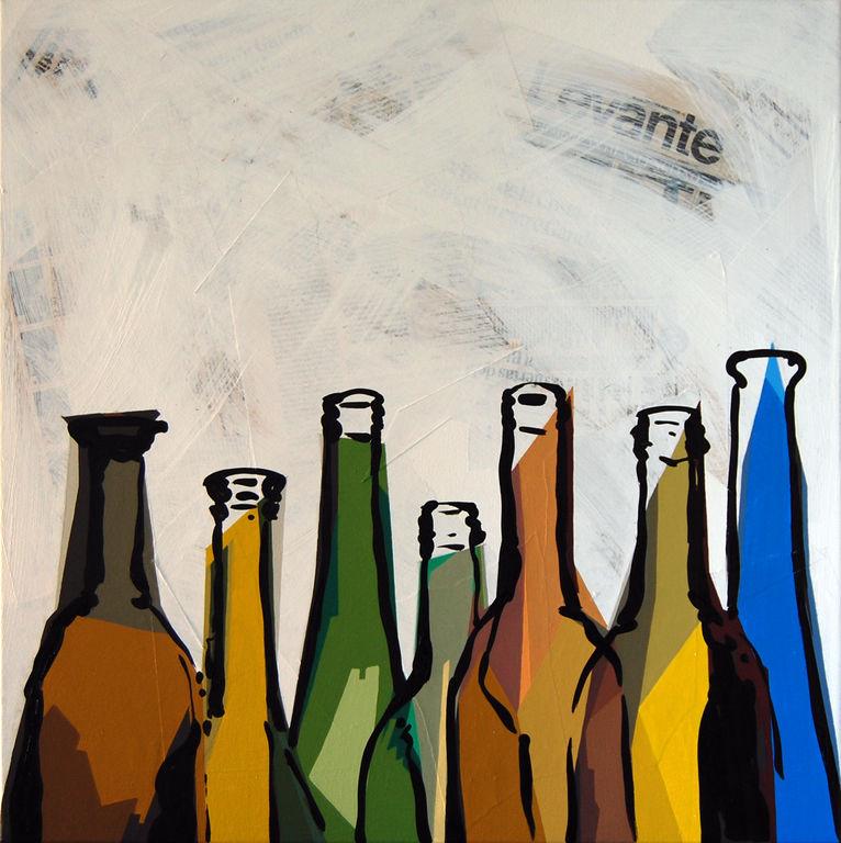 Botellas toni colomina subiela - Botelleros de obra ...