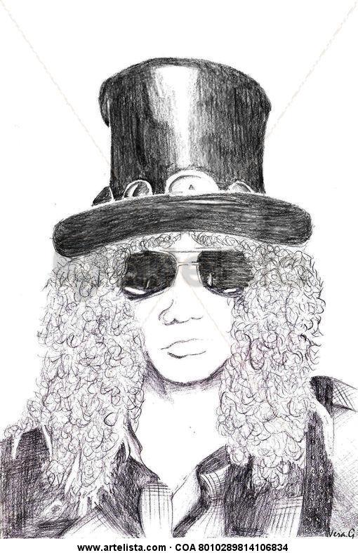 Dibujo de Slash Vera G. - Artelista.