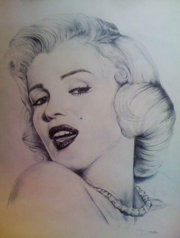 Marilyn monroe dibujo - Imagui