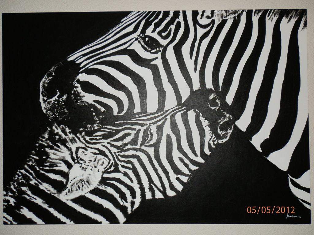 Cebras miriam lopez murcia - Cuadros de cebras ...