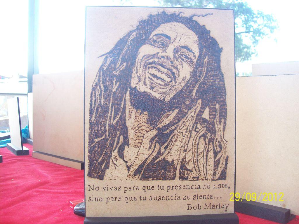 Bob marley juan gomez - Cuadros de bob marley ...
