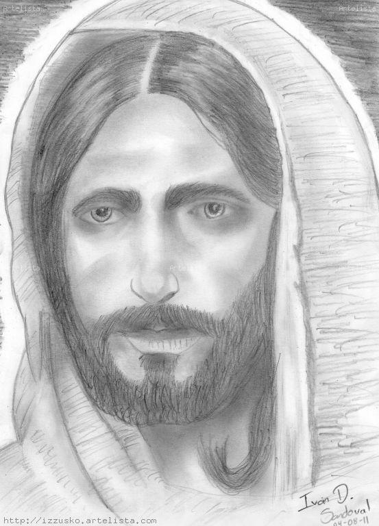 Rostros de Jesus a lapiz - Imagui