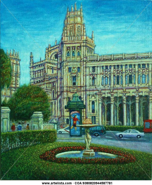 Edificio de correos de madrid francisco sadornil for Edificio correos madrid
