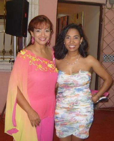Soraya Medina y Lilian Carrasco