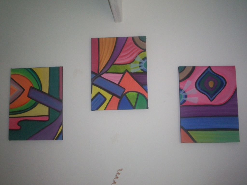 Figuras geometricas eliana milena uribe for Cuadros con formas geometricas