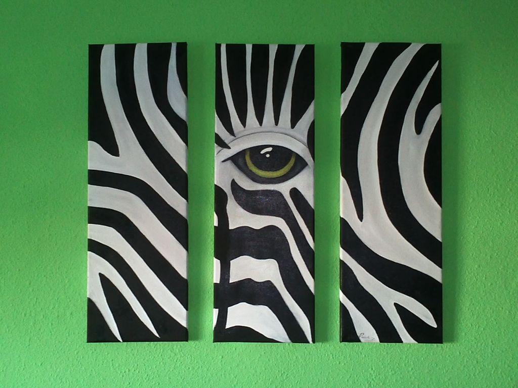 Tr ptico cebras antonia prieto borrego - Cuadros de cebras ...