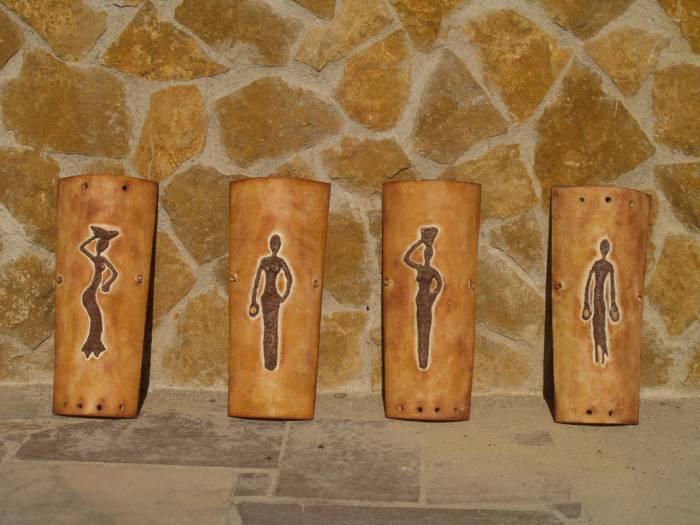 Tejas con relieve sonia nadal garcia for Pintura para tejas