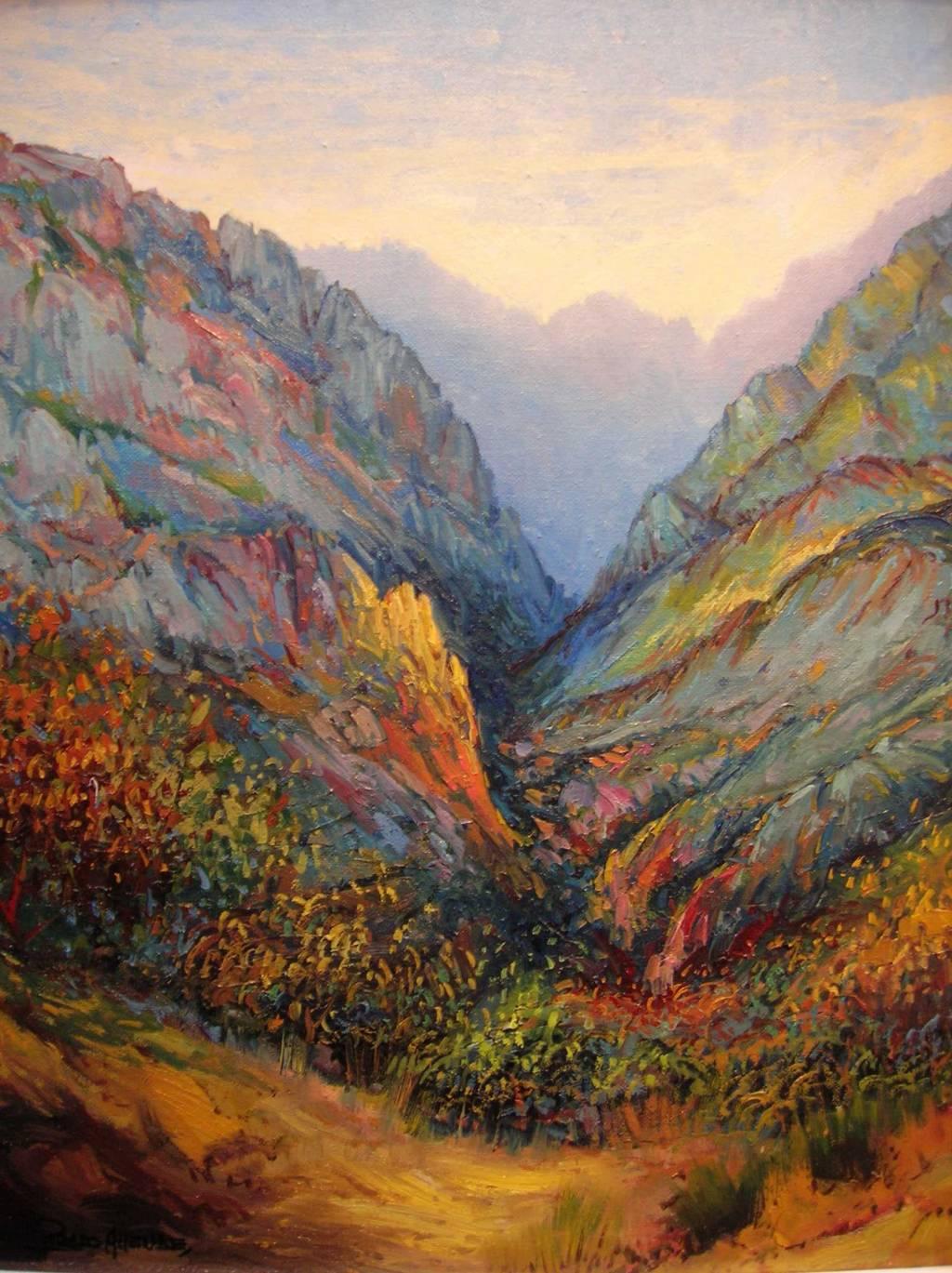 Picos de europa c lido est o de oto o 19 luis prado - Pintores en asturias ...