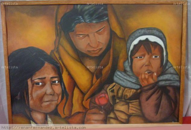 FAMILIA.. Acrylic Others Portrait
