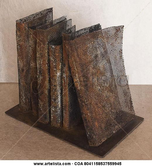 libros malla Metal Mixta