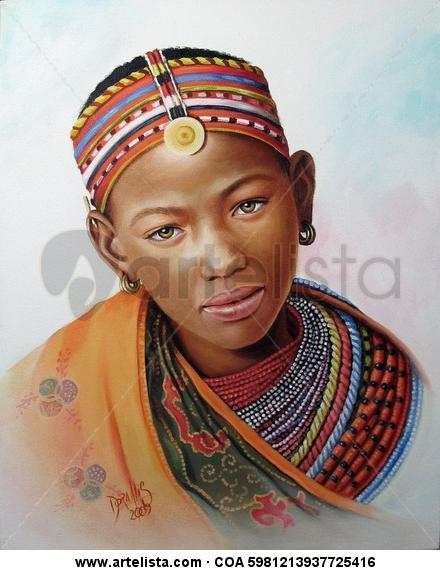 niña de raza negra 8