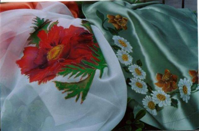 PINTURA EN SEDA -TELAS Pintura En Seda Textil