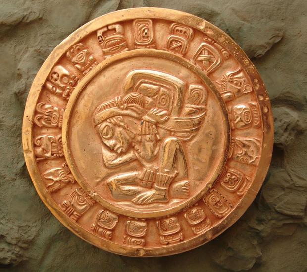 Calendario Maya Cobre
