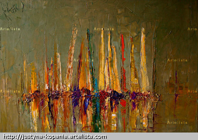Illumination... Canvas Oil Marine Painting