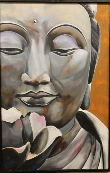 Buda Others Oil Canvas