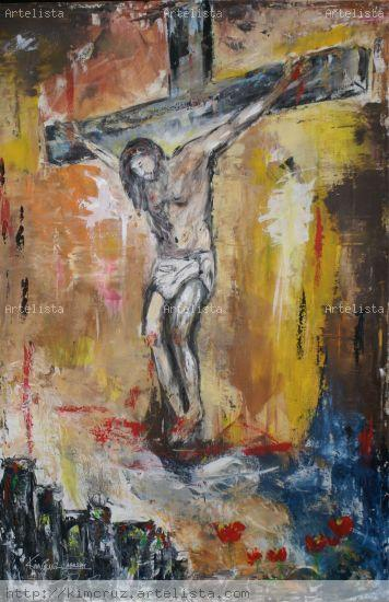 Christus Textile Others Oil