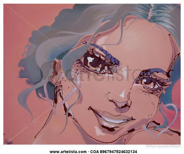 Pulinoa      2012 Tela Acrílico Retrato