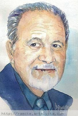 Guati Rojo Watercolour Paper Portrait