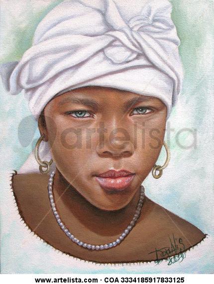 niña de raza negra 15