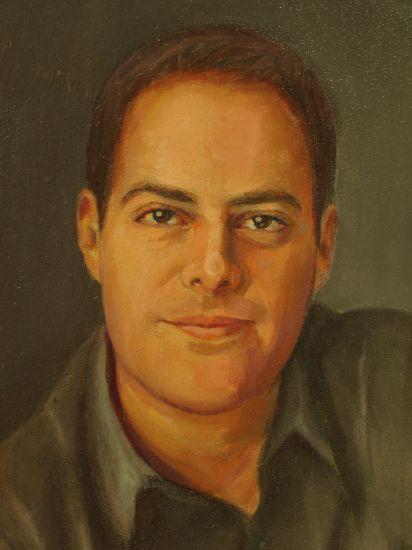 Jacinto Oil Canvas Portrait