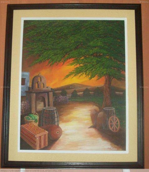 portada de la paña colecc:colores de mi region de walter ramos Óleo Lienzo Paisaje