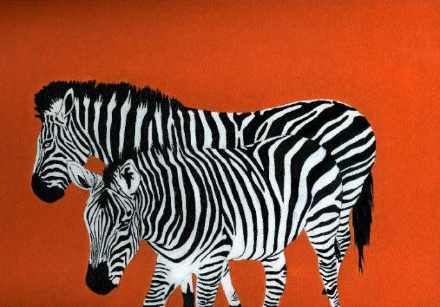 Cebras carteia - Cuadros de cebras ...