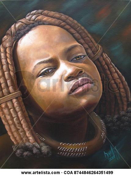 niña de raza negra 39
