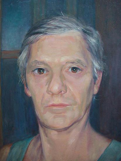 Arturo Oil Canvas Portrait