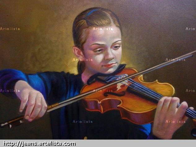 musical Oil Canvas Landscaping