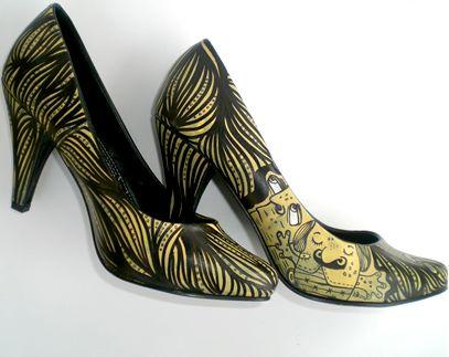 Mis monstruosos zapatos Acrílico Otros Otros