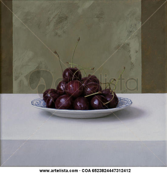 Picotas II Canvas Oil Still Life Paintings