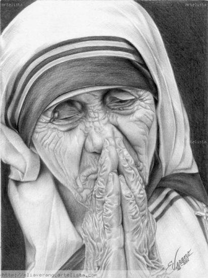 Madre Teresa de Calcuta Graphite