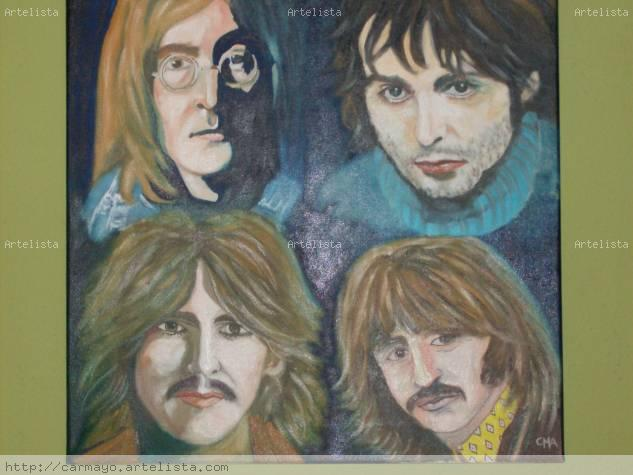 the beatles Óleo Lienzo Retrato
