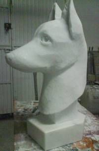 Mi perro Mármol Figurativa