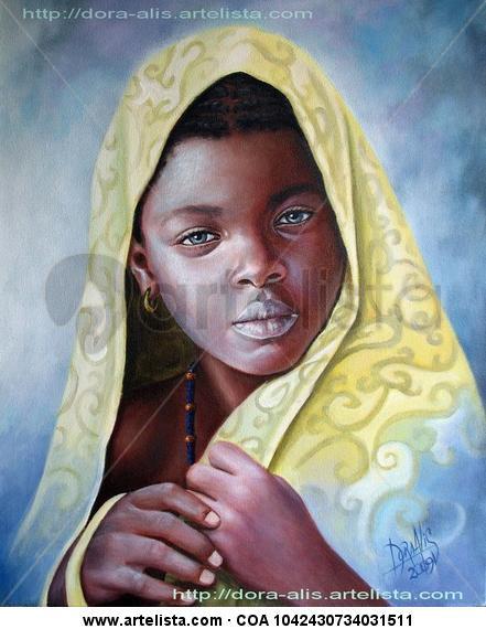 niña de raza negra 7