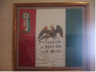Bandera del Batallón Activo de San Blas