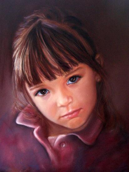 Lucía Papel Pastel Retrato