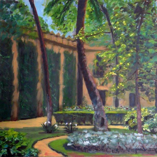 Jardines del alcazar de sevilla 2012 wenceslao gomez vera for Jardines del eden sevilla