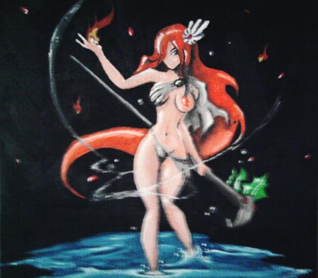 pacha-mama versión anime Nude Paintings Oil Canvas