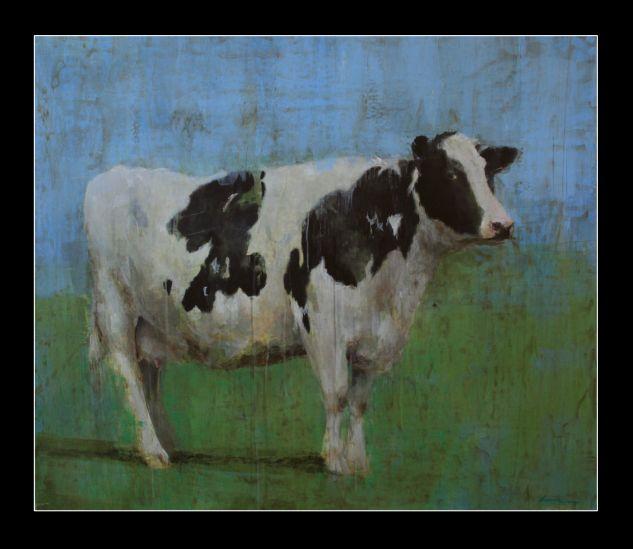 La vaca h ctor herrera - Cuadros de vacas ...