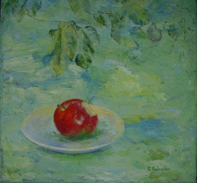 \\manzana,plato,rama de higuera 40