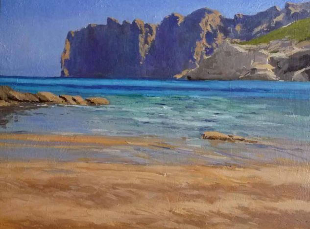 cala Oil Canvas Landscaping