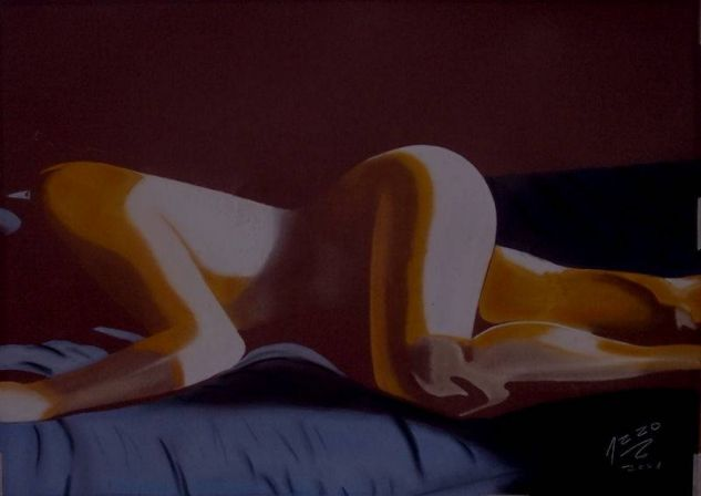 Arrakis, dunas... Pastel Papel Desnudos