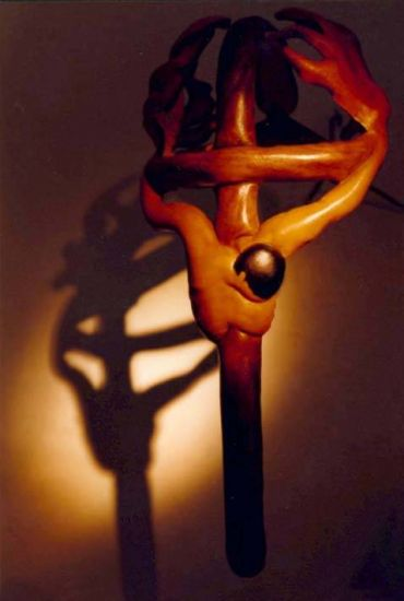 crucificado Cuero - Piel Piel y Cuero
