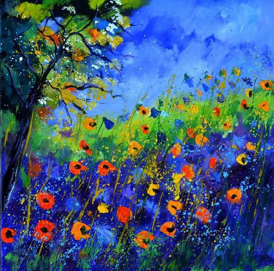 Summer 667130 Canvas Oil Landscaping