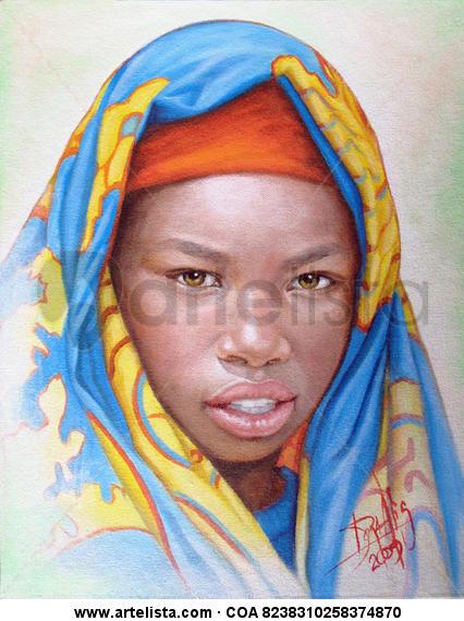 niña de raza negra 11