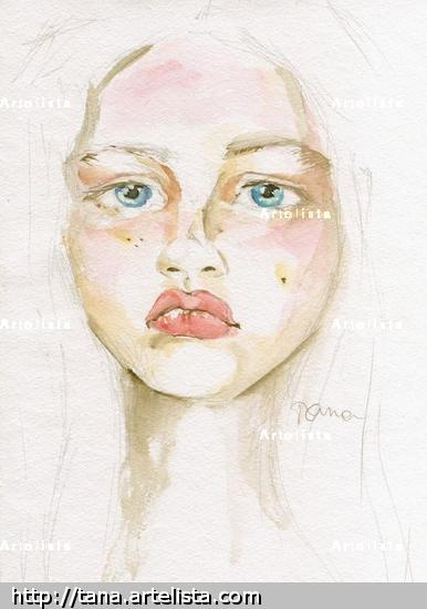 Siberia Portrait Watercolour Paper