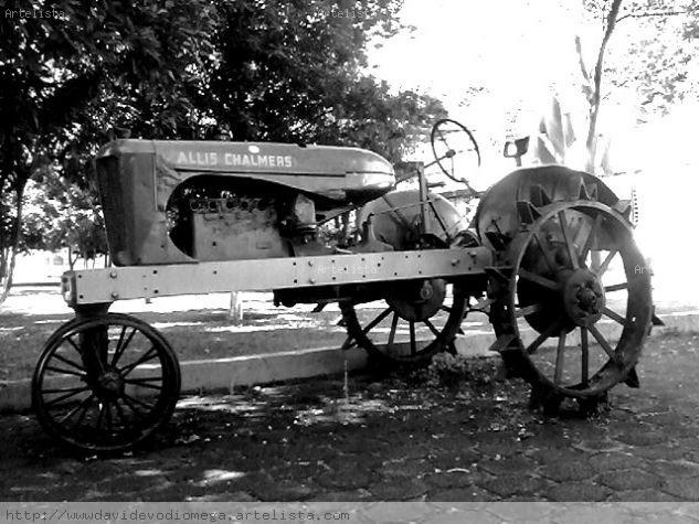 el abuelo tractor