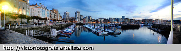 Puerto deportivo - Gijón Color (Digital) Naturaleza
