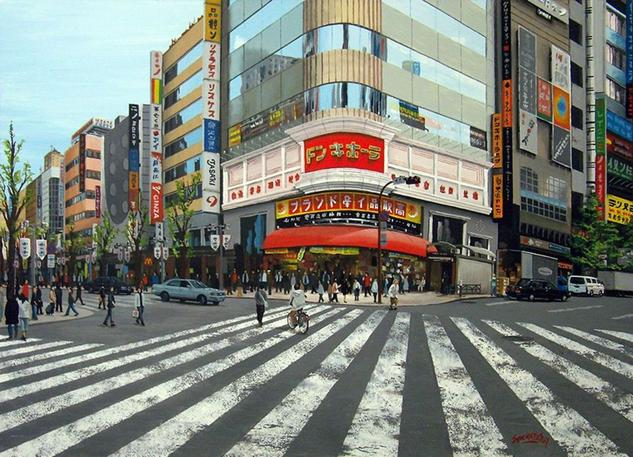 Ginza, Tokyo #11 Tabla Otros Paisaje